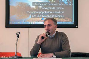 Massimiliano Filabozzi, Incontro pubblico CDF alla Riserva Naturale Tevere Farfa - 6 dic 2016 - photo Teresa Mancini